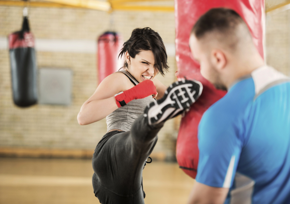 Women's Self-defense and Kickboxing at Ronin MMA